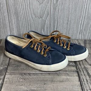 Sperry Seacoast Canvas Sneakers 5M